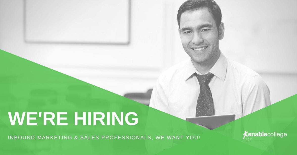Marketing Vacancy